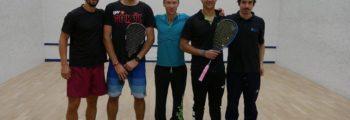 Journée équipes R1F et N3H à Squash Center
